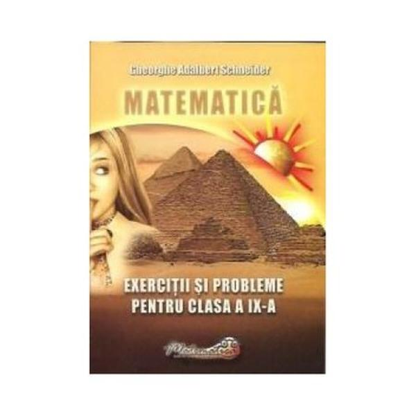 Matematica - exercitii si probleme - clasa a IX-a 2010