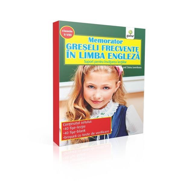 Memorator de engleza Greseli frecvente in limba engleza