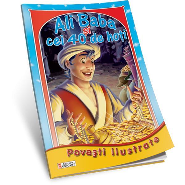 Ali Baba si cei 40 de hoti Povesti ilustrate