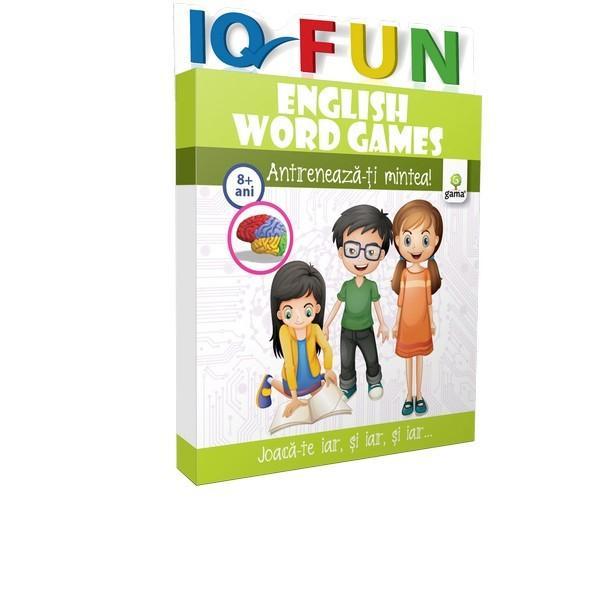 Pachetul con&539;inefi&537;ecu diferite tipuri de jocuri de cuvinte pentru copiii care doresc s&259; înve&539;evocabularul limbii englezeîntr-un mod inedit &537;i amuzant Primele careuri sunt simple cu imagini ajut&259;toare apoi încruci&537;&259;rile devin din ce în ce mai complexe R&259;spunsurile corecte se reg&259;sesc pe ultimele fi&537;eDezlegarea careurilor de cuvinte