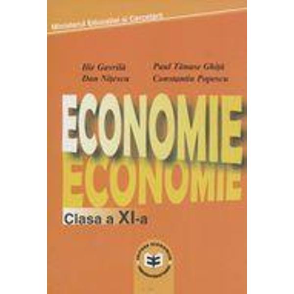 Economie clasa XI