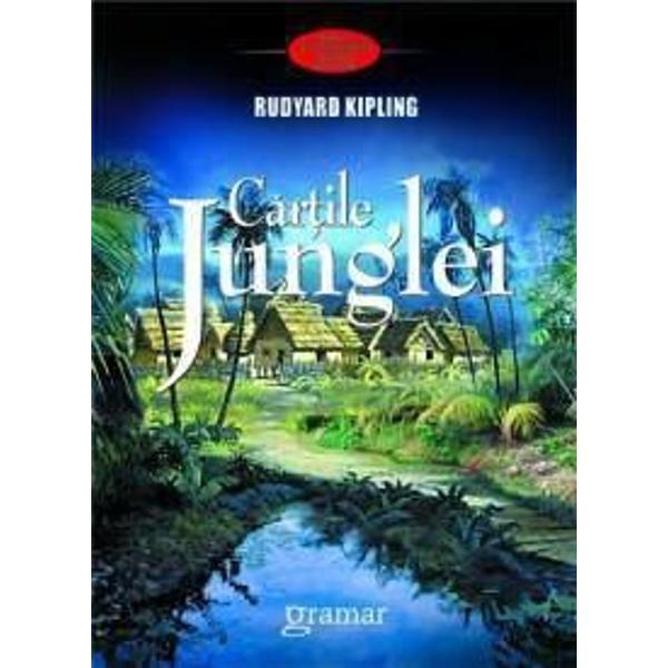 """Cartea junglei 1894 este o culegere de povestiri scrise de renumitul autor Rudyard Kipling în perioada în care a tr&259;it în Vermont Toate povestirile fuseser&259; publicate anterior în reviste între anii 1893-1894 Cea mai cunoscut&259; parte cuprinde trei povestiri despre aventurile unui """"pui de om"""" abandonat Mowgli crescut de lupi în jungla indian&259; Cele mai cunoscute dintre celelalte"""