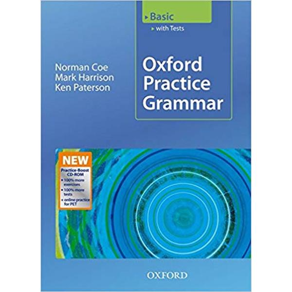 The first level in the Oxford Practice Grammar series Grammar topics explained simply and clearly with lots of opportunity to practiseOxford Practice Grammar knows that students need different types of explanation and practice at each stage of their study Basic provides lots of practice and short explanations Great for the classroom or for self-study and covers all the grammar you need to prepare for KET and PET exams