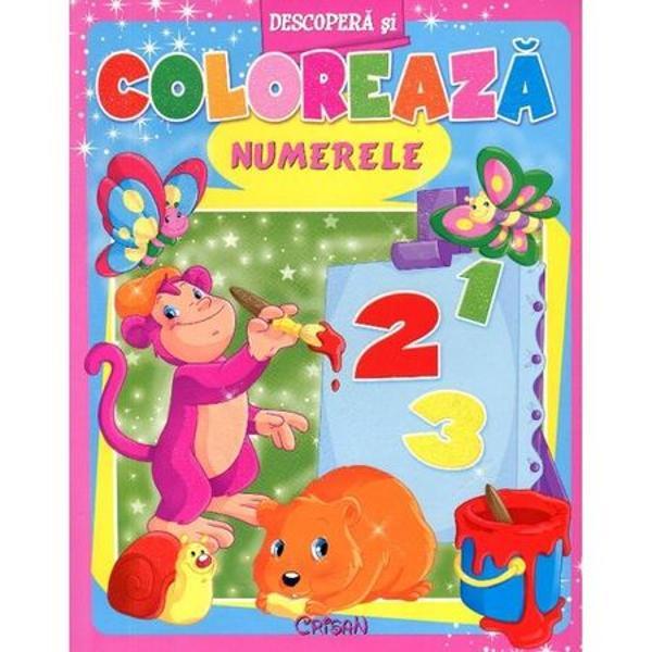 Numerele Descopera si coloreaza