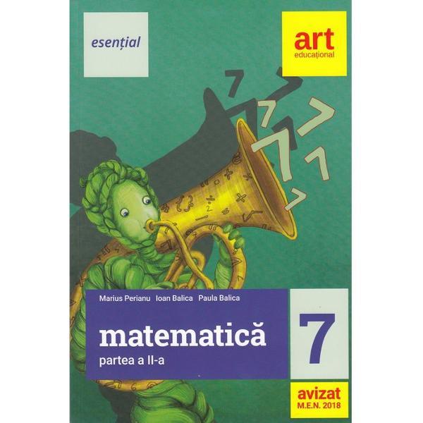Culegere de matematica clasa a VII a semestrul II edita 2018 Esential