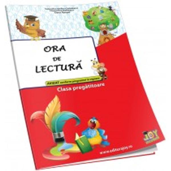 Ora de lectura pentru clasa pregatitoare