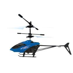Varsta 14 ani Tip vehicul ElicopterBrand iDrivePlaneaza deasupra palmei sau se inalta printr-o simpla apasare de buton Porniti elicopterul mutand butonul de pornireoprire din spatele acestuia in pozitia ON - indicatorul albastru se aprindeTineti mini telecomanda indreptata spre figurina si apasati butonul acesteia sau tineti elicopterul deasupra palmei deschise pentru a porni elicele Priviti cum se inalta Apasati butonul telecomenzii pentru a opri