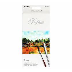 Creioane colorate acuarela cu pensulaSet creioane 12 CuloriDiametru grif 32mmNu sunt recomandate copiilorcu virsta sub 3 ani
