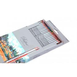 Creioane colorate acuarela cu pensulaSet creioane 36 CuloriDiametru grif 32mmNu sunt recomandate copiilorcu virsta sub 3 ani