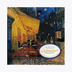 Platou 13x13cm Van Gogh cafe at night 1987309 imagine librarie clb