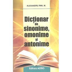 Dictionar de sinonime omonime si antonime