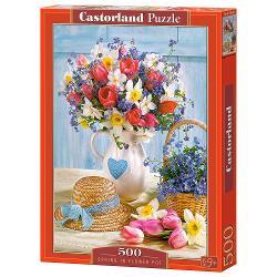 Brand CastorlandNum&259;r piese500 bucVârsta12 aniDimensiuni puzzle asamblat47 x 33 cmMaterial carton