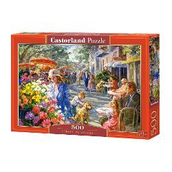 Brand CastorlandNum&259;r piese500 bucVârsta 9 aniDimensiuni puzzle asamblat47 x 33 cmMaterial carton