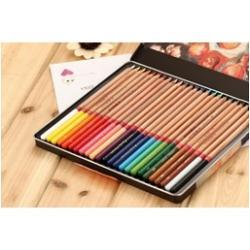 Set de creioane in cutie metalica elegantaSet 36 culoriDiametru grif 37 mmNu sunt recomandate copiilor cu varsta sub 3 ani