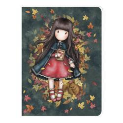 Gorjuss Caiet A4 cu coperta Autumn Leaves 1033GJ01 imagine librarie clb