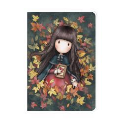 Gorjuss Caiet A5 cu coperta -Autumn Leaves 1032GJ01 imagine librarie clb