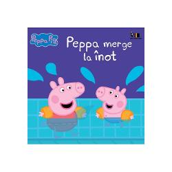 Carte bazat&259; pe serialul TV Peppa PigPeppa &537;i George merg la înot dar lui George îi e pu&539;in team&259; Cum îl vor convinge m&259;mica &537;i t&259;ticul Purcelu&537; s&259; intre în piscin&259;