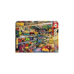 Puzzle 2000 piese The Farmers Market 17128