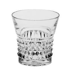 Set 6 pahare whisky Trinity 320 ml Cristal BohemiaAmbalare in cutie de cadou de culoare clasica Bohemia albastru marin