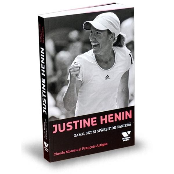 În acea zi de 8 iunie 2003 la Roland Garros Justine Henin 21 de ani câ&351;tig&259; Interna&355;ionalele de Tenis ale Fran&355;ei în fa&355;a compatrioatei sale Kim Clijsters Ame&355;it&259; de fericire tân&259;ra belgianc&259; prive&351;te cu profund&259; melancolie spre înaltul cerului omagiindu-&351;i astfel mama disp&259;rut&259; Ca o str&259;fulgerare un frison de maxim&259; emo&355;ie str&259;bate rândurile spectatorilor