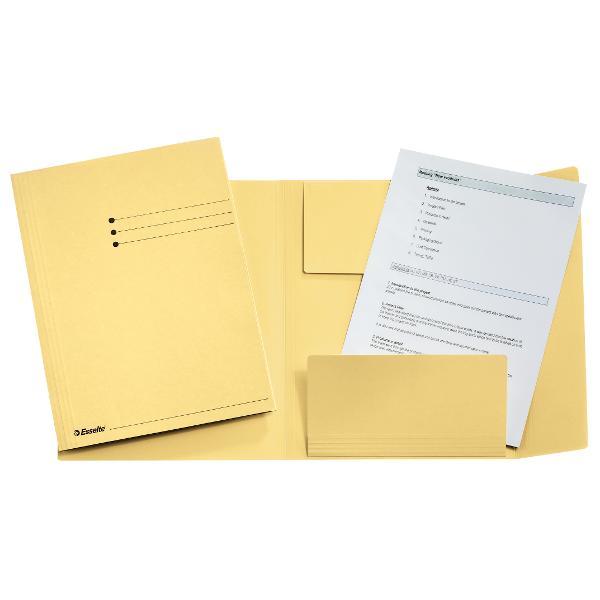 Arhivare usoara si rapida a documentelor3 clape ce previn pierderea documentelorDisponibil in diverse culori pentru organizarea sistematica a documentelorFormat A4span stylecolor