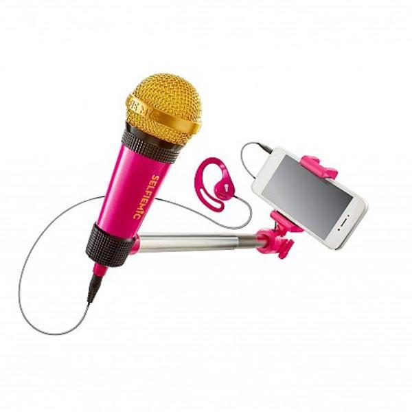 Microfonul magic WORLDS APARTo sa fie pe placul tuturor copiilor Microfonul magic este cea mai la moda jucarie pe care o vor adora copiii indiferent de varsta acestora Minunata jucarie va transforma un exercitiu de karaoke intr-un videoclip adevarat Cei mici isi vor exersa calitatile de cantareti si vor impresiona cu toate versurile pe care le cunosc Copiii iubesc sa cante si sa danseze iar microfonul magic vine in completarea lor si este ideal pentru micile