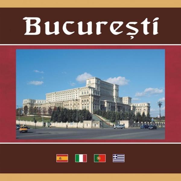 Un album mai succint de format 24×22 cm editat in versiunea spaniol&259;-italian&259;-portughez&259;-greac&259; sise adreseaz&259; mai ales turi&351;tilor straini dar &351;i românilor din &355;ar&259; sau chiar din capital&259; care doresc s&259; cunoasc&259; obiectivele cele mai renumite din Bucure&351;ti; con&355;ine imagini color dar are &351;i un capitol ce prezint&259; în imagini alb-negru cl&259;diri vechi care nu mai exist&259; ast&259;zi