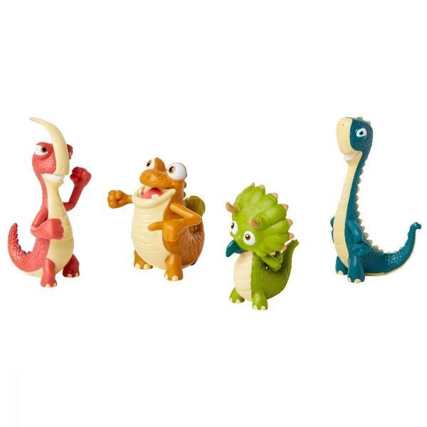 Pentru Baieti FeteVarsta 3 - 4 ani 4 - 5 ani 5 - 7 ani 7 - 8 aniCuloare MulticolorBrand GigantosaurusMazu Bill Rocky si Tiny sunt cei mai buni prieteni si se ajuta intotdeauna unul pe celalalt in timp ce merg in aventuri pentru a vedea ce inseamna GigantosaurusPachetul contine- 4x figurine Dino FriendsDimensiuni produs in ambalaj 63 x 254 x 165 cmVarsta recomandata 3 ani Atentie Contraindicat copiilor mai