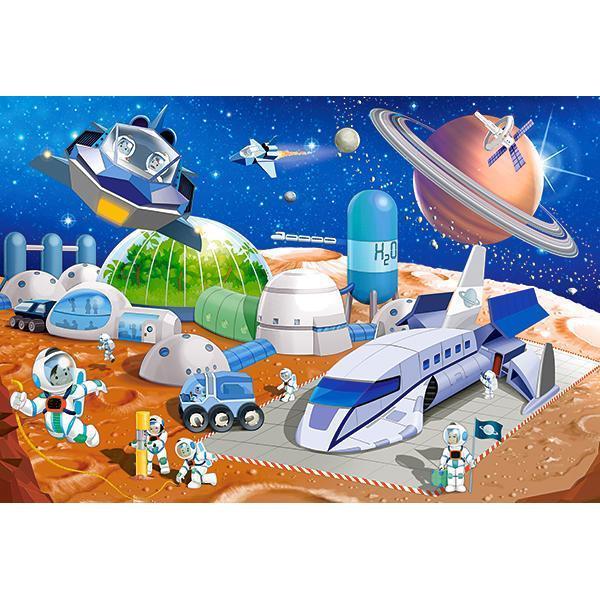 Puzzle de 40 de piese mari cu Statia SpatialaDimensiuni Cutie 325×225×5cmdiv classcommerce-product-field commerce-product-field-field-puzzle-size field-field-puzzle-size