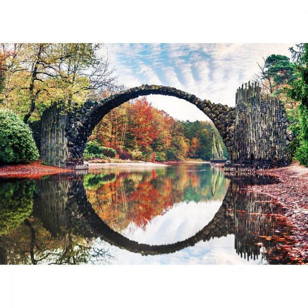 Puzzle Noriel - Podul de piatra 500 piese  Noriel  Pentru Baieti FeteVarsta 5 - 7 ani 7 - 8 ani 8 - 10 ani 10 - 12