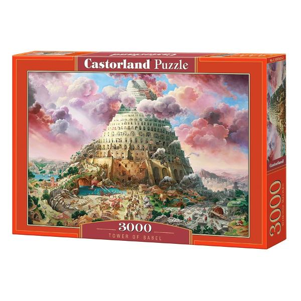 Brand CastorlandNum&259;r piese3000 bucVârsta 9 aniDimensiuni puzzle asamblat92 x 68 cmMaterial carton