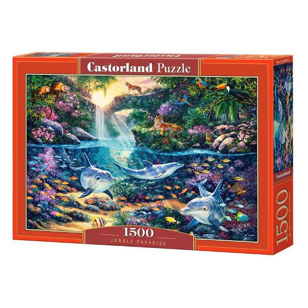 Brand CastorlandNum&259;r piese1500 bucVârsta 9 aniDimensiuni puzzle asamblat68 x 47 cmMaterial carton