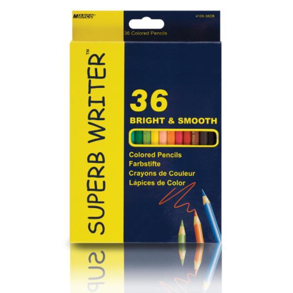 Creioane colorate- Set de 36 culori- Diametru grif 29 mmNu sunt recomandate copiilorcu virsta sub 3 ani