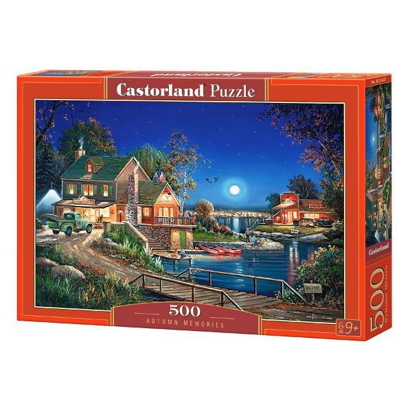 Puzzle de 500 de pieseDimensiuni cutie 325×225×5 cmDimensiune puzzle 47×33 cmRecomandat pentru persoanele cu varste peste 9 ani
