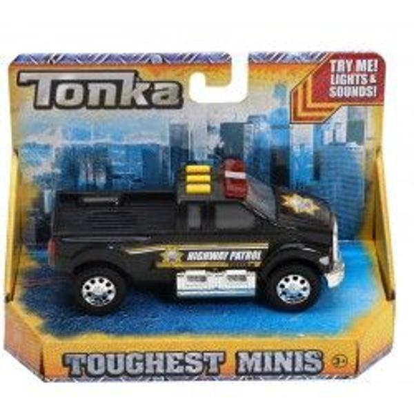 Masinutele Tonka sunt metalice viu colorate si sunt realizate cu o atentie foarte mare pentru detalii semanand umitor cu vehiculele reale Gama de mini-modele Tonka de la Funrise cuprinde vehicule utilitare - masini de pompieri de politie de salvare etc Creeaza-ti propria colectie de minimodeleTe rugam sa specifici modelul dorit in campul observatii la plasarea comenzii
