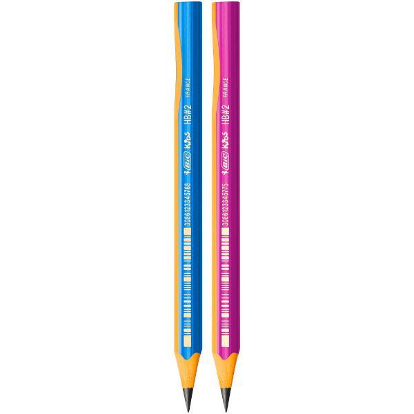Creion grafit pentru incepatori Forma triunghiulara pentru o prindere usoara fabricat din rasina sintetica Linie de ghidare pentru pozitionarea corecta a degetelor Pentru copii cu varsta mai mare de 4 ani Potrivit atat pentru dreptaci cat si pentru stangaci Mina HB ultrarezistenta de 4 mm
