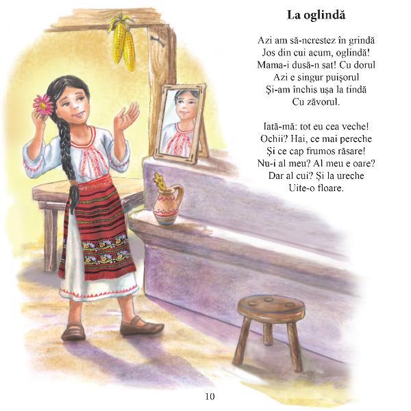 Seria Poe&539;i mari pentru cei mici este o serie prin care ne propunem s&259; aducem mai aproape de copii poezia româneasc&259; într-un mod care nu a fost realizat a&537;a cum trebuie pân&259; acum prin volume care s&259; cuprind&259; texte valoroase &537;i ilustra&539;ii deosebite realizate în condi&539;ii grafice excep&539;ionale &537;i care s&259; transmit&259; o atmosfer&259; cald&259; &537;i pozitiv&259; Acest volum contine e o selectie cu