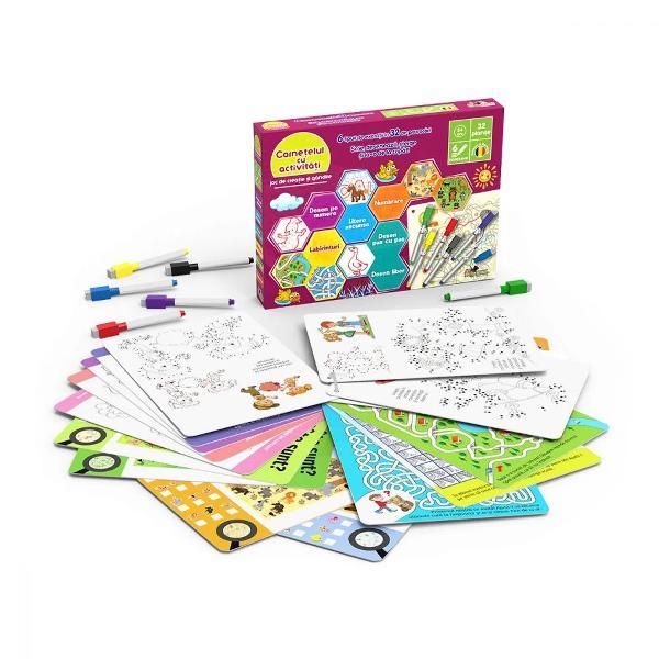 CuloareMulticolorPentruBaieti FeteVarsta5 - 6 ani 6 - 7 ani 7 - 8 ani 8 - 10 aniBrandNoriel GamesScrie deseneaza