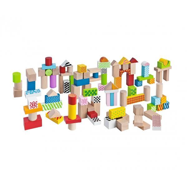 Blocuri colorate de lemn pentru construit 100002226