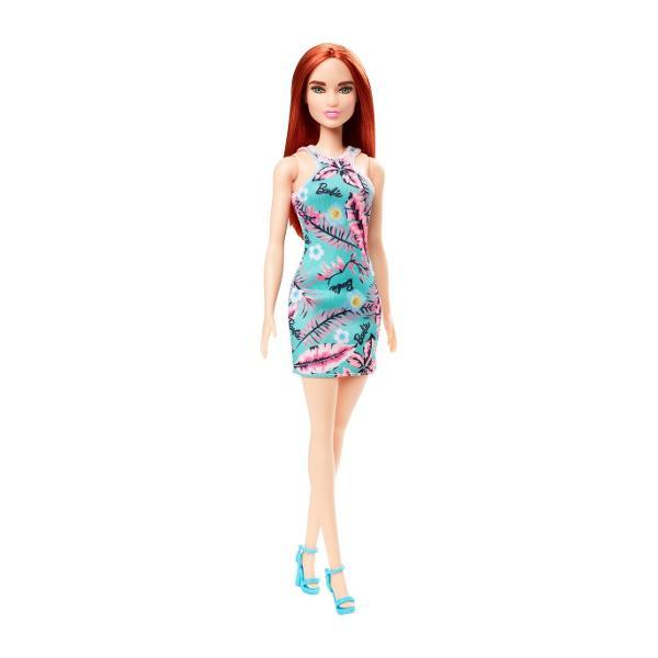 Papusa Barbie este mereu la moda cu tinute cool cu printuri deoasebite si cei mai fabulosi pantofi Stilul papusilor Barbie iese in evidenta oricand si oriunde Papusa Barbie este pregatita pentru o noua poveste avand tot timpul o tinuta potrivita Cu Barbie poti fi orice iti doresti Include papusa Barbie cu o tinuta si pantofiVarsta recomandata 3 ani