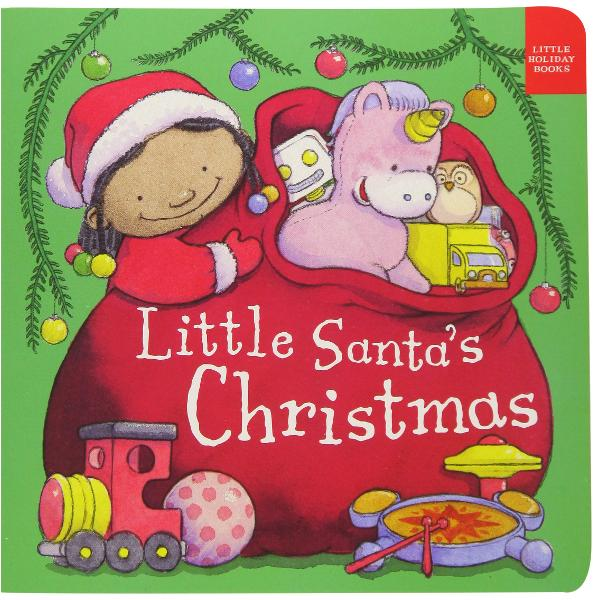 Join Little Santa delivering Christmas surprises There are presents for all the boys and girls and a big hug for Little Santa when the Christmas work is done