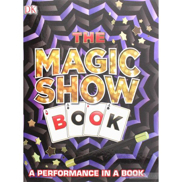 Abracadabra Kids will amaze friends and family with this pop-up magic show book The Magic Show Book becomes part of the show as young magicians craft their own wand from its pages and interact with props pop-ups and pull-tabs to perform card tricks mind-readinag predictions and much more Kids can wave their new magic wand to conjure up a spectacular show with easy-to-perform but sure to amaze illusions using coins cards dice and rope Watch and be astounded as they make a coin jump