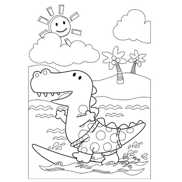Carte de colorat 24 pagini A4 pentru varsta 3-7 ani