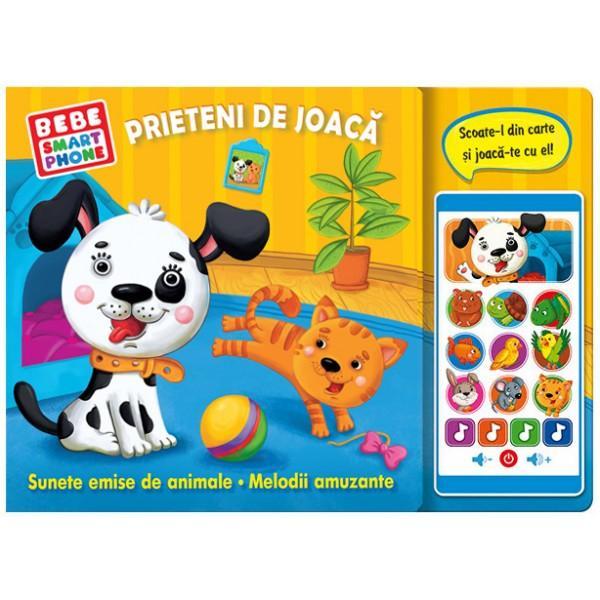 Cu ajutorul acestei c&259;r&539;i impresionante copiii vor înv&259;&539;a despre animalele de companie în timp ce se joac&259; Un telefon de juc&259;rie d&259; voce tuturor personajelor din carte &537;i îi încânt&259; pe cei mici cu