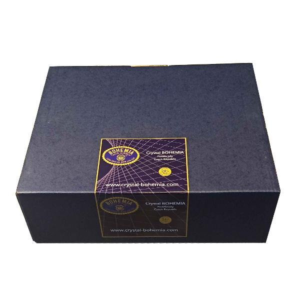 Bol Cristal Bohemia 12 cm Este ambalat intr-o cutie de cadou ce contine elemente de protectie pentru transport in siguranta