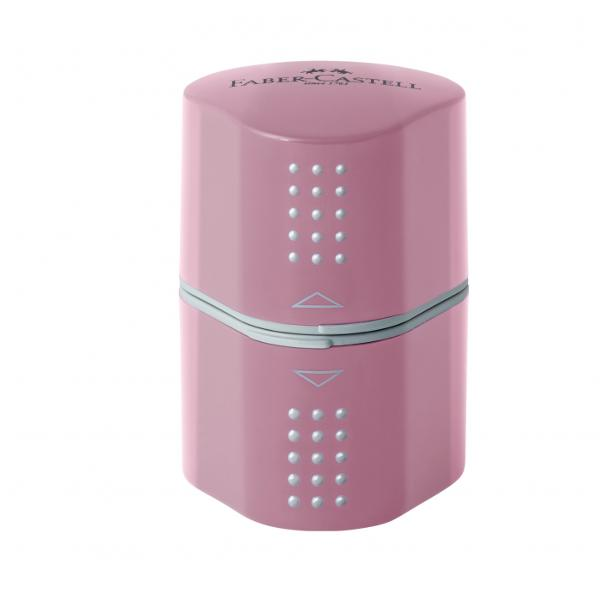 Pentru creioane standard creioane triunghiulare si creioane groase de tip JumboCu container de depozitare in ambele laturi particuloare Rose