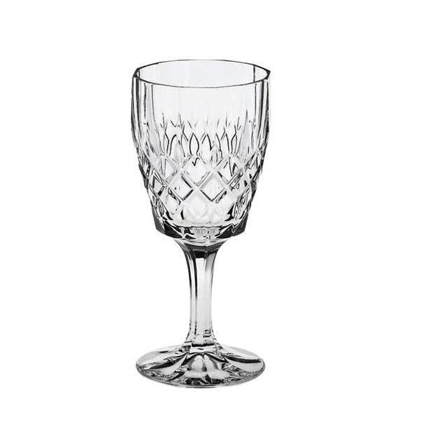 Paharul pentru vin rosu Angela este sufletul pereche in procesul servirii si al degustarii vinului Aromele se vor pastra perfect datorita formei paharului si a cristalului de Bohemia din care este creat Ornamentul cu romburi ii dau un aer elegant ce va atrage toate privirile si complimenteleVolum pahar 200mlSetul contine 6 pahareAmbalare in cutie de cadou clasica BohemiaElemente de autenticitate pe fiecare pahar si pe cutie