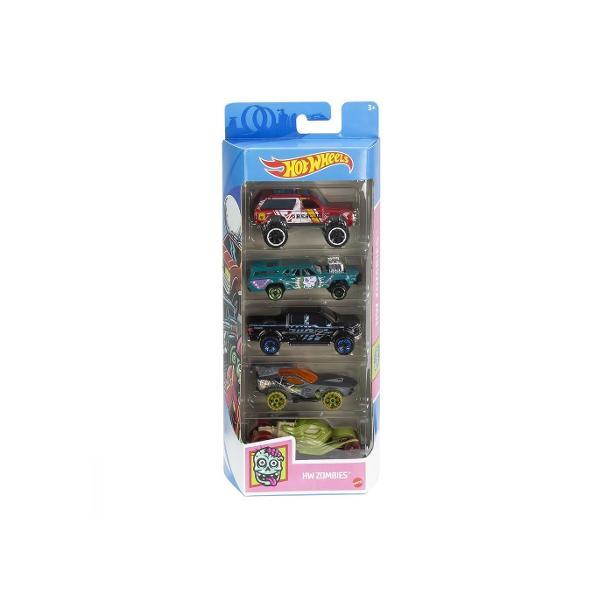 Masini de curse masini sport o multitudine de culori si diferite stiluri Masinutele sunt alegerile perfecte Pentru copii si colectionari Alegerea ideala pentru un cadou destinat copiilor ce indragesc masinile si drift-urile Setul contine 5 masinute HW Zombies