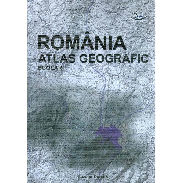 Atlas geografia Romaniei