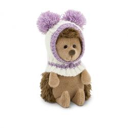 Fluffy, ariciul cu caciulita alb-violet, din plus, 15cm OS001-03/15